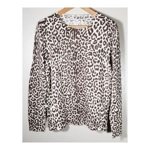 J.Crew Factory || Animal Print Sweater